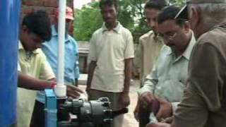 The First Solar Powered Reverse osmosis Plant in India.7.30 min.