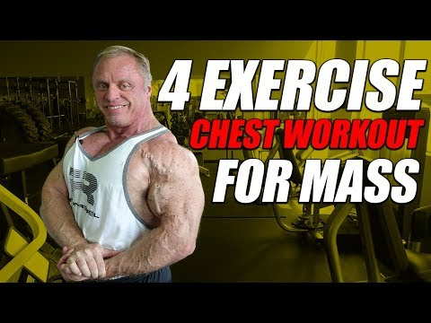 4 exercise chest workout for mass