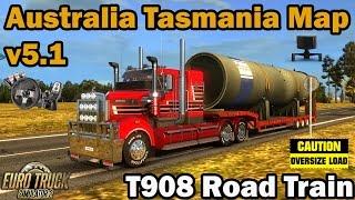 ETS2 - Australia Tasmania Map v 5.1