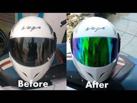 Helmet Visor Sunfilm | Helmet Visor Stickers