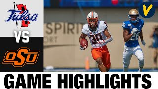 Tulsa vs #11 Oklahoma State Highlights | Week 3 College Football Highlights | 2020 College Football