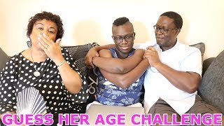 FAMILY GUESS HER AGE CHALLENGE (IMPOSSIBLE)