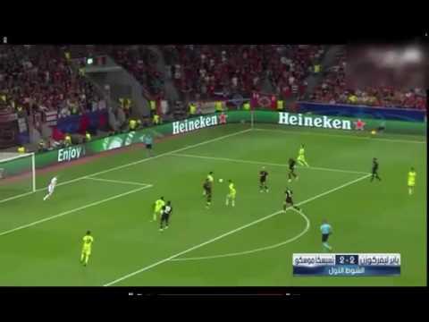 Alan Dzagoev and Roman Eremenko Goals Vs Bayer 04