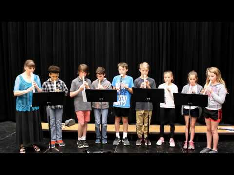 O Canada - arranged by Donna Rhodenizer for recorders