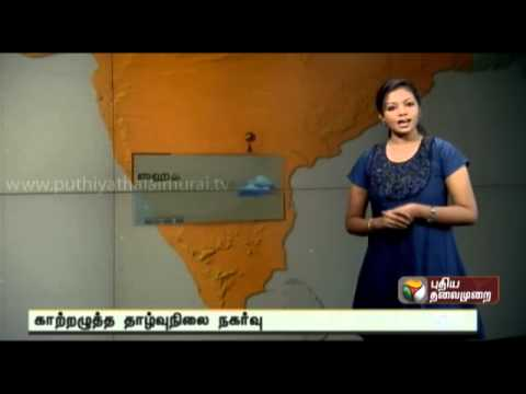 Weather report of Tamil Nadu