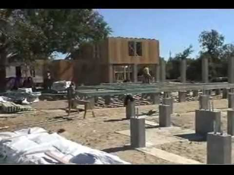 raised wood floor foundation design youtube