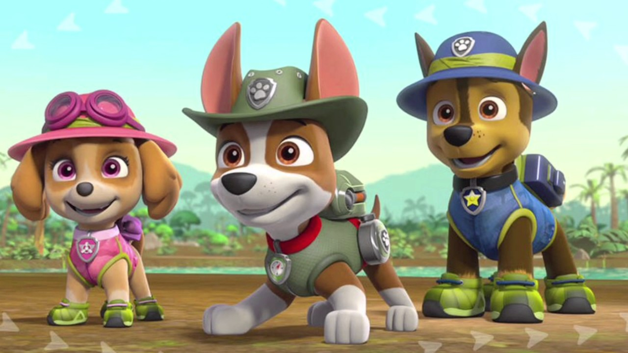 Paw Patrol Tribute For Lioness Julka And Zuma The Puppy