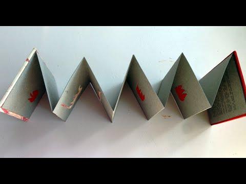 FUEGO. LIBRO ACORDEÓN. - YouTube