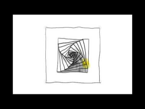 Zentangle Patterns Tangle Patterns Paradox Square