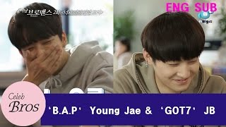 "Young Jae & JB Celeb Bros EP2 ""A liaison between you and me"""