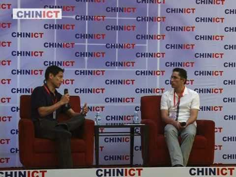Ushi.cn founder speaks at CHINICT.