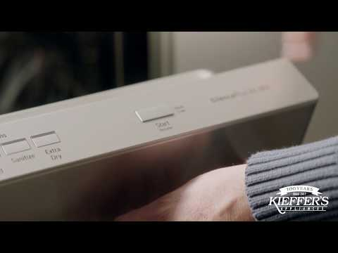 Bosch Dishwasher with Sound Reducing Technologies