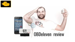 OBDeleven Review - OBDeleven - Diagnostic tool - Application review OBD11 - OBDeleven PRO recenzja