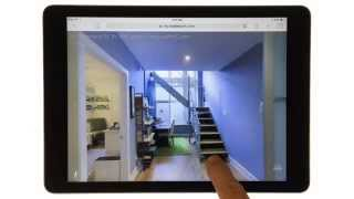 Living Luxe | How Matterport 3D Looks on an iPad