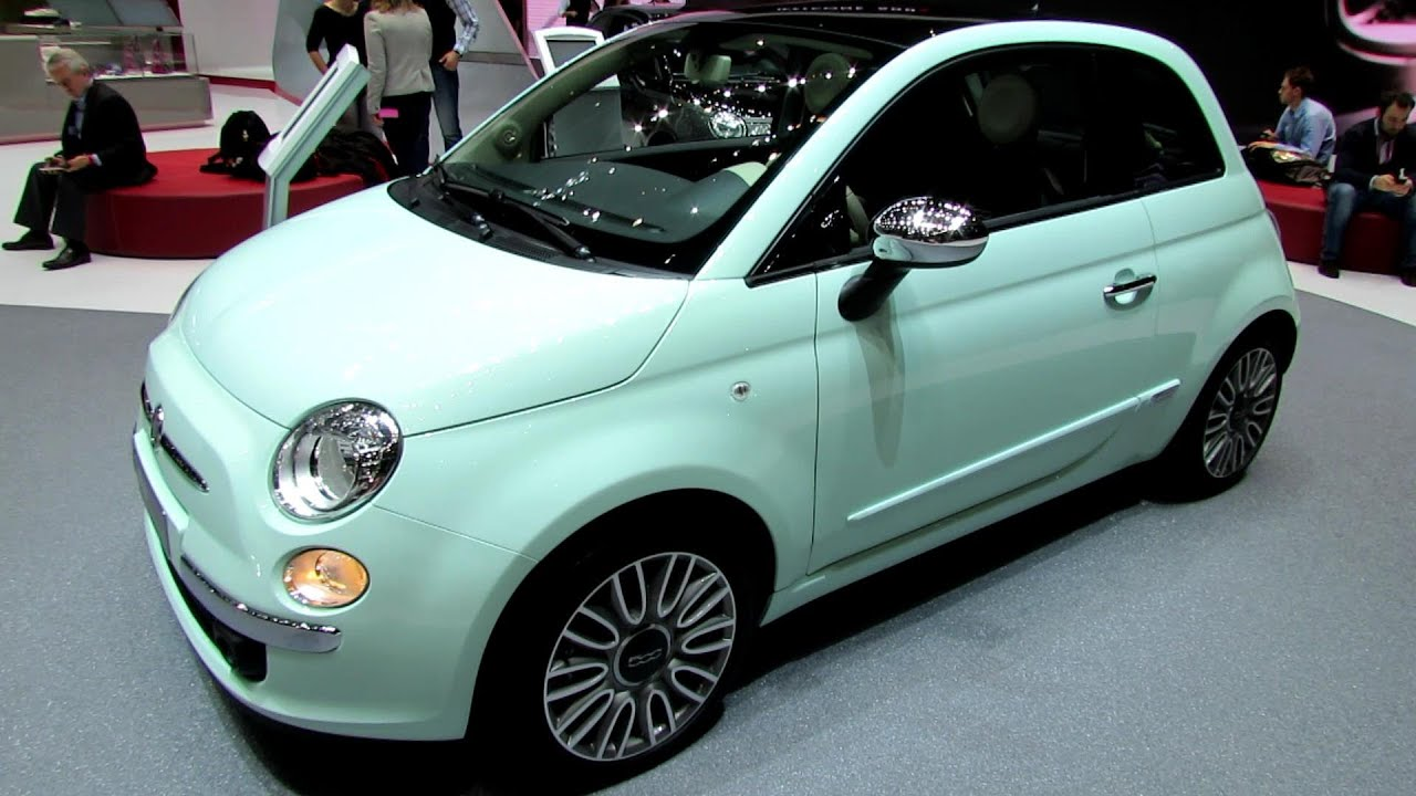 2014 Fiat 500 Cult   Exterior And Interior Walkaround   2014 Geneva Motor  Show