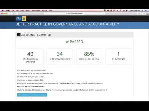 Better Practice In Governance And Accountability