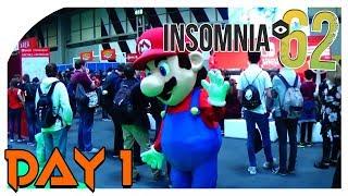 "Insomnia #i62 - Day 1 ""Super Mario"" Fortnite Battle Royale!"