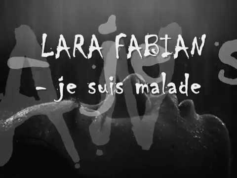 Lara Fabian Je Suis Malade Letra Español