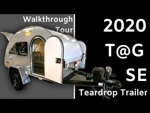 TAG SE (T@G) Teardrop Trailer by nüCamp RV - Walkthrough Tour