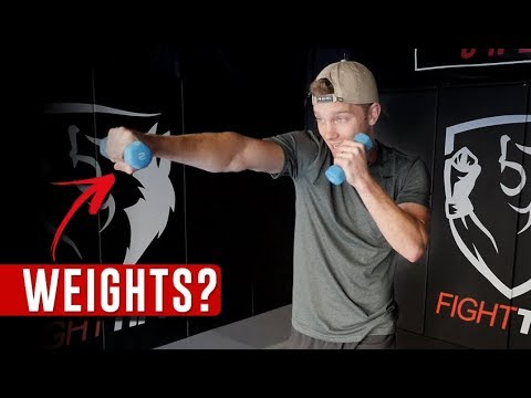 Shadowboxing with Weights: Benefits & Workouts