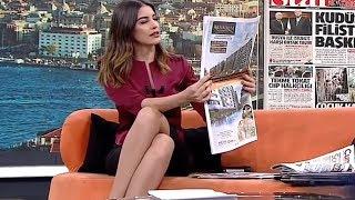 Ceren Bektaş Tv Presenter from Turkey