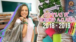 COMPRAS de REGRESO A CLASES #HAUL || Ana Díaz