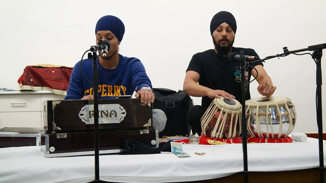 Download Anandh Bhaeiaa Maeree Maaeae Shabad Kirtan by Bhai Manvir Singh and Sunny Singh from Slough UK