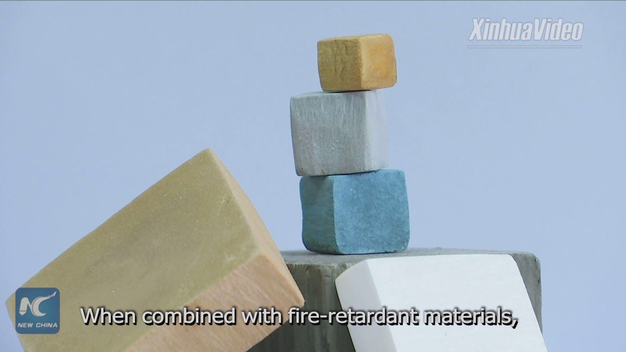 ec1d77528793 Chinese scientists create fire-retardant artificial wood - YouTube
