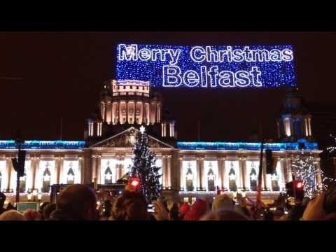 Christmas Lights Switch-On, Belfast 2013