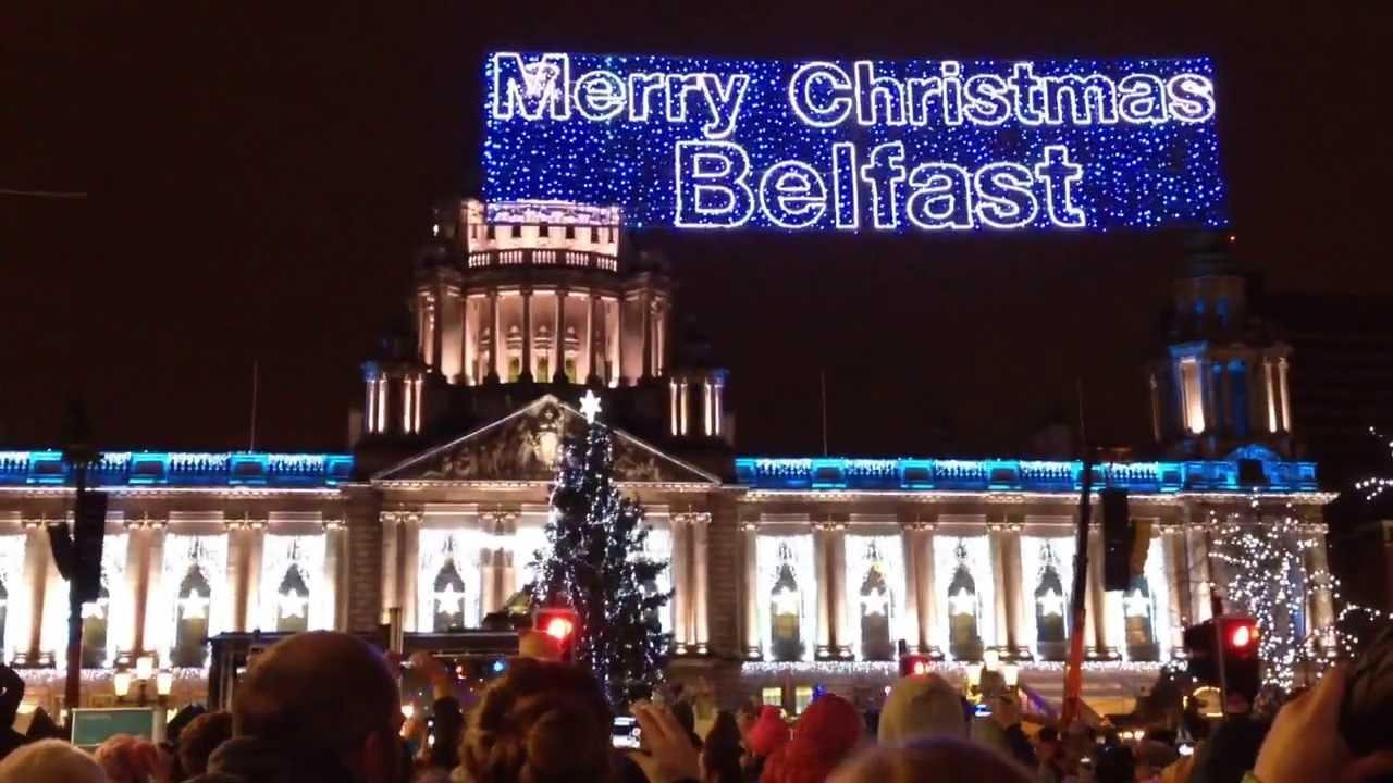 christmas lights switch on belfast 2013 - Christmas Light Switch