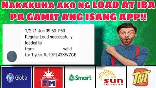 Paano makakuha ng libreng load sa isang App lang?!Freeload2020 Free Load sa isang App