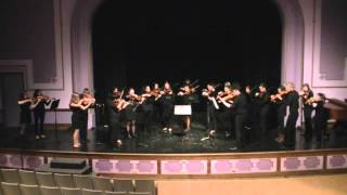 FCTE Forest City Violins - 2015 Kiwanis Music Festival - Slavonic Dance No 1 in G Minor