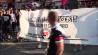 MANIFESTACION ANTIFASCISTA SAN FERNANDO DE HENARES JULIO 2014