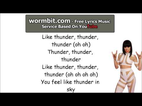 Jessie J - Thunder (LYRICS)