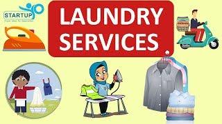 Laundry services Business - StartupYo