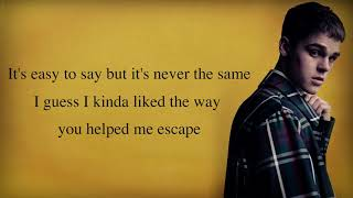 Lewis Capaldi - Someone You Loved (AJ Mitchell cover) [Full HD] lyrics Video