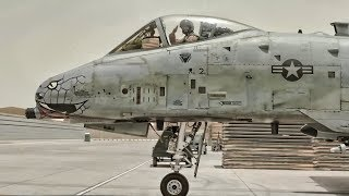 A-10 Warthog Prepares For Combat Patrol Over Afghanistan