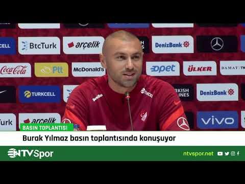 Burak Yılmaz ve Stefan Kuntz'un Norveç maçı öncesi basın toplantısı