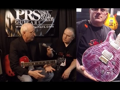 Awkward PRS Guitars Interview? You decide. Winter NAMM 2017