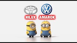 Toyota Hilux vs Volkswagen Amarok Minions Style