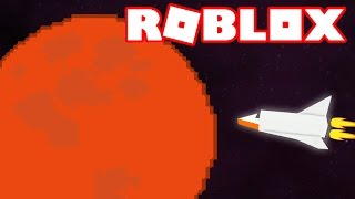 Roblox - I WENT TO MARS!! -Rocket Tester #3 🎮