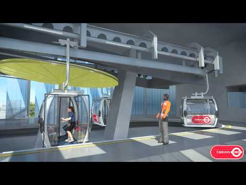 CGI movie shows off new Emirates London cable car