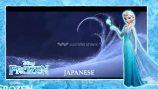 Disney's Frozen -  Let It Go Chinese - Japanese mashup