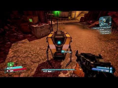 Borderlands 2 - Claptrap's Birthday Party