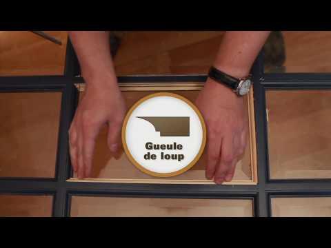 Calfeutrage des fen tres par joint silicone moul doovi - Remplacer une vitre de porte ...