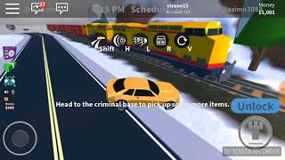 Escaping jail on roblox