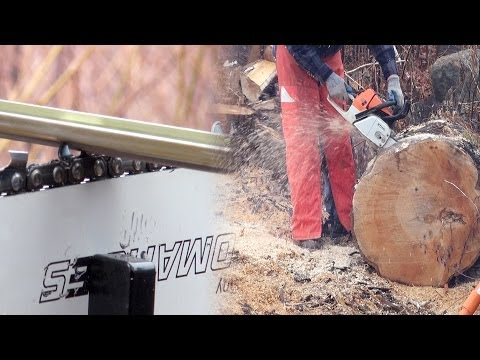 Chainsaw Firewood Cutting Tips 1 - Preparation Equals Success
