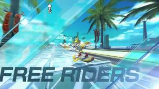 Sonic Free Riders intro (Kinect)