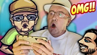 La REACCIÓN de mi padre al verse en un juego ES AMOR!!  | YouTurbo
