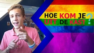 HOE KOM JE UIT DE KAST?  Tips en Ervaringen  [Internationale Coming Out Dag 2016]  -thijmenmees